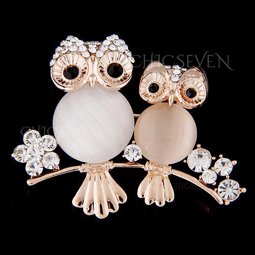 Beautiful Alloy Rhinestones With Rhinestone Women's Fashion Brooches (Sold in a single piece)