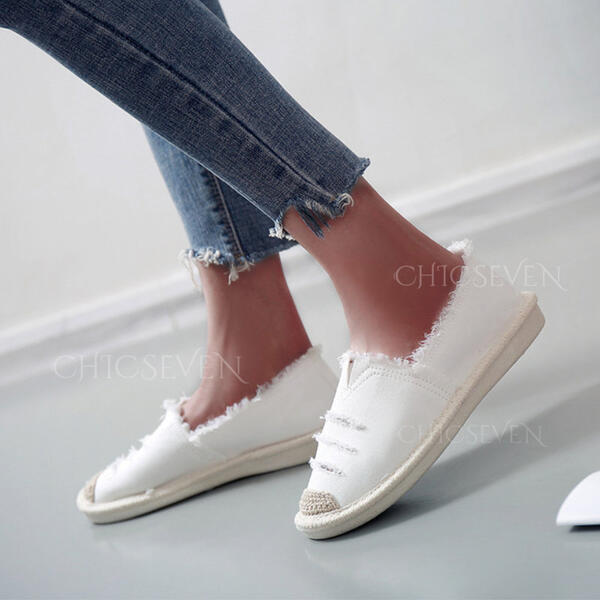 Women's Canvas Casual Outdoor With Hollow-out shoes