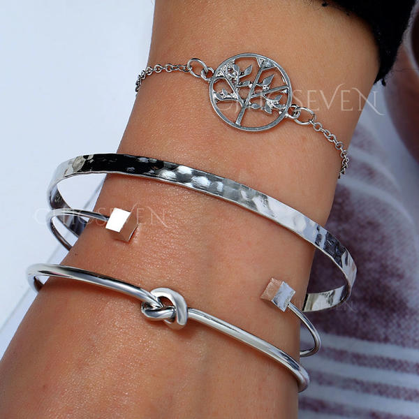 Stylish Alloy Women's Bracelets (Set of 4)