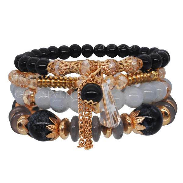 Unique Alloy Crystal Acrylic Ladies' Fashion Bracelets