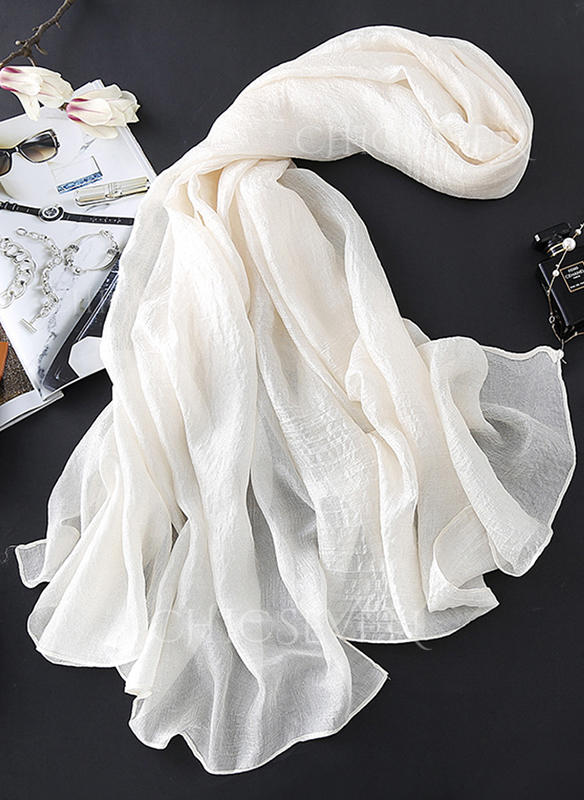 Solid Color Light Weight/Oversized Scarf