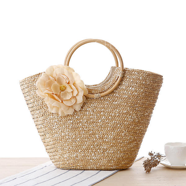 Fashionable/Floral Polyester Tote Bags/Beach Bags