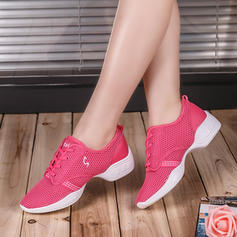 Women's Sneakers Sneakers Fabric With Lace-up Sneakers