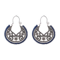 Vintage Alloy Women's Earrings (Set of 2)