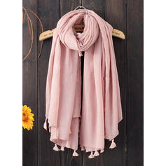 Solid Color Light Weight Square scarf