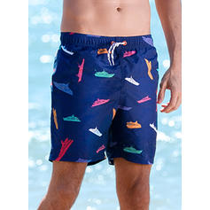 Men's Dot Board Shorts