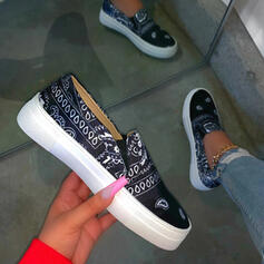 Women's PU Casual Outdoor With Elastic Band shoes