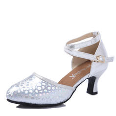 Women's Latin Heels Leatherette Latin