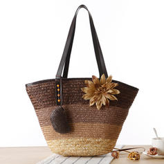 Fashionable/Splice Color Polyester Shoulder Bags/Beach Bags