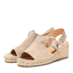 PU Wedge Heel Sandals Wedges Peep Toe Heels With Others shoes