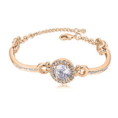Fashionable Alloy Rhinestones Ladies' Bracelets