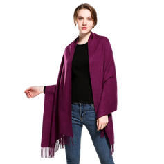 Solid Color Oversized/fashion Wraps