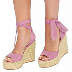 Women's Fabric Wedge Heel Sandals Wedges With Others shoes