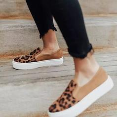 Women's PU Casual With Animal Print shoes