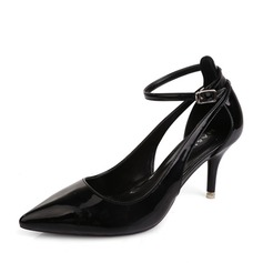 Women's Leatherette Stiletto Heel Pumps shoes