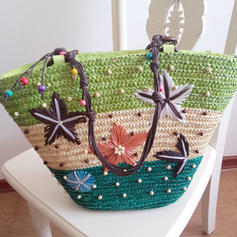 Pearl Style/Star Polyester Tote Bags/Shoulder Bags/Beach Bags