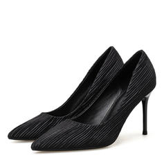 Women's Suede Stiletto Heel Pumps shoes