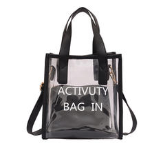 Transparent PVC Tote Bags/Shoulder Bags