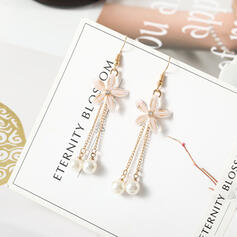 Chic Alloy Imitation Pearls Women's Earrings