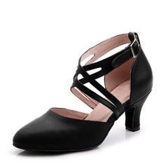 Women's Ballroom Heels Real Leather Ballroom