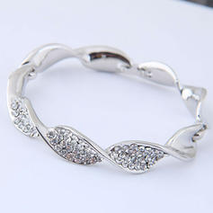 Beautiful Alloy Rhinestones With Rhinestone Women's Bracelets (Sold in a single piece)