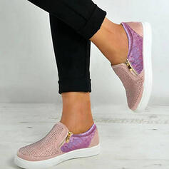 Women's PU With Zipper Hollow-out shoes