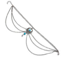 Chic Alloy With Imitation Pearl Women's Beach Jewelry
