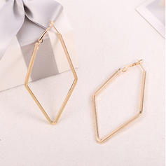Simple Alloy Women's Earrings (Set of 2)