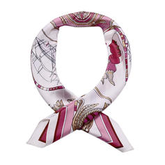 Geometric Print Square/Light Weight Square scarf
