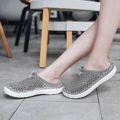 Women's Fabric Flat Heel Flats Slippers With Hollow-out shoes