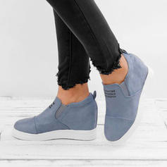 Women's Fabric Wedge Heel Flats With Others shoes