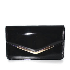 Fashionable Patent Leather Clutches/Shoulder Bags