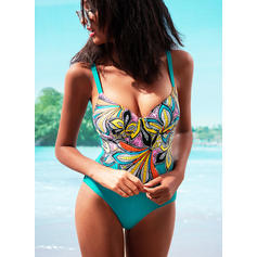Colorful Strap Sexy Elegant One-piece Swimsuits