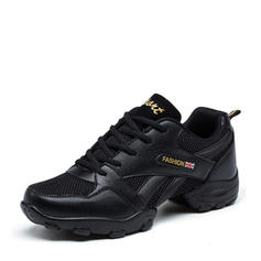 Men's Sneakers Sneakers Leatherette Fabric With Lace-up Sneakers