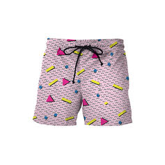 Men's Dot Board Shorts Swimsuit