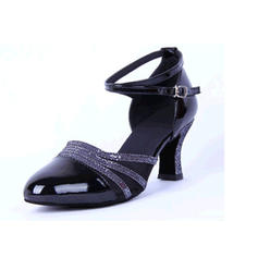 Women's Ballroom Sandals Leatherette With Hollow-out Latin