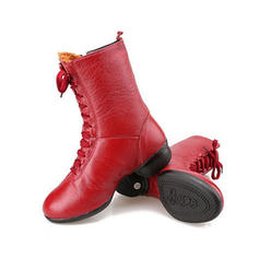 Women's Dance Boots Boots Real Leather Dance Boots