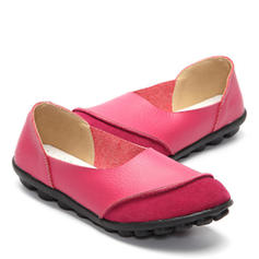 Women's Rubber Flat Heel Flats With Others shoes