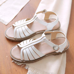 Women's Leatherette Flat Heel Sandals Flats With Buckle shoes