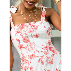 Print/Floral Sleeveless A-line Casual/Vacation Maxi Dresses