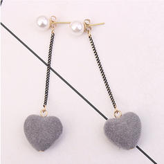 Exquisite Imitation Pearls Copper With Imitation Pearl Women's Earrings (Set of 2)