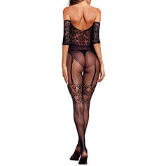Polyester Lace Mesh Teddy