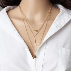 Chic Alloy Ladies' Fashion Necklace