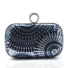 Charming Sequin/Polyester Clutches