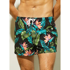 Men's Print Swim Trunks Swimsuit