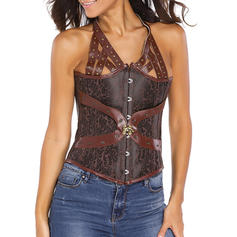 Polyester Jacquard Corset