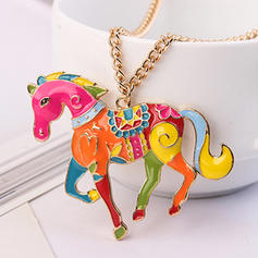 Fashionable Alloy Ladies' Fashion Necklace