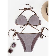 Low Waist Thong String Halter Sexy Bikinis Swimsuits