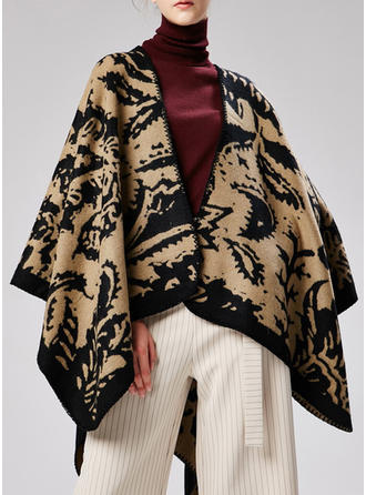 Country style attrayant/mode Poncho