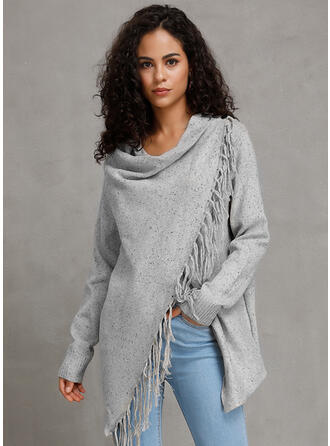 Solid Chunky knit Cardigan